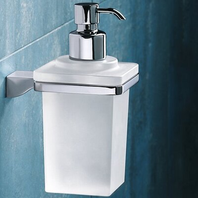 Gedy by Nameeks Glamour Wall Mounted Soap Dispenser in Chrome