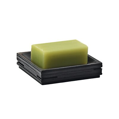 Gedy by Nameeks Quadrotto Soap Holder in Black