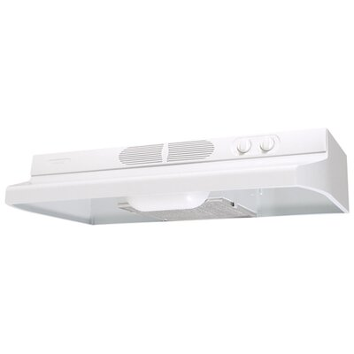 Quiet Zone Under Cabinet Range Hood with 260 CFM
