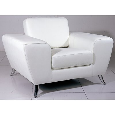 Hokku Designs Julie Leather Chair