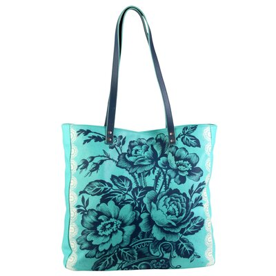 Amy Butler Imperial Blue Alissa Tote Bag