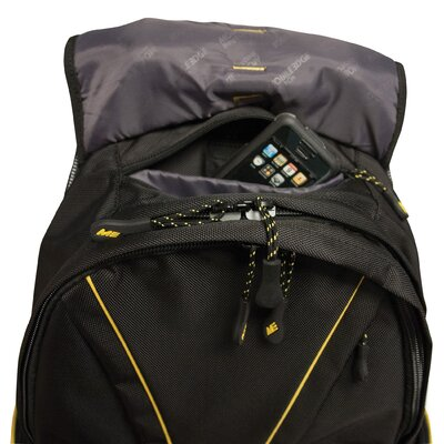 Mobile Edge Premium Backpack in Yellow / Black