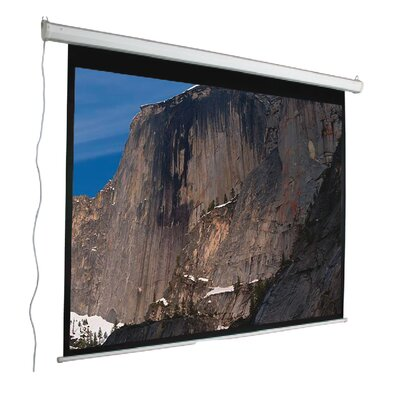 "Mustang 120"" 4:3 Aspect Ratio Electric Screen in Matte White"