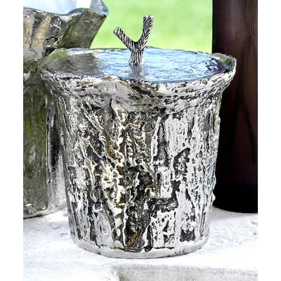 Zodax Artisan Aluminum Ice Bucket with Lid