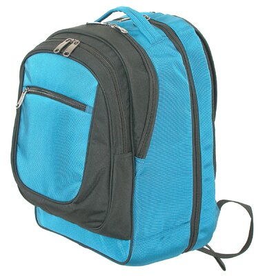 Easy Check Computer Backpack in Blue