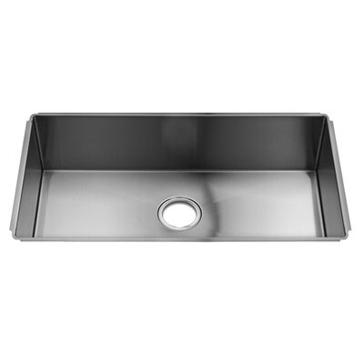 "Julien J7 31"" x 17.5"" Undermount Single Bowl Kitchen Sink"