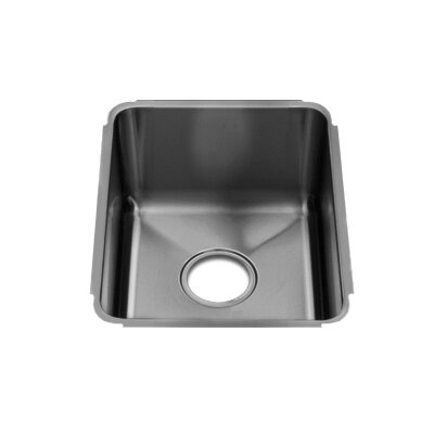 "Julien Classic 13"" x 17.5"" Undermount Single Bowl Kitchen Sink"