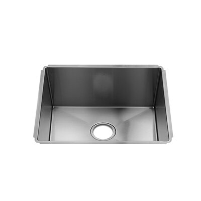 "Julien J7 22"" x 18.5"" Undermount Single Bowl Kitchen Sink"