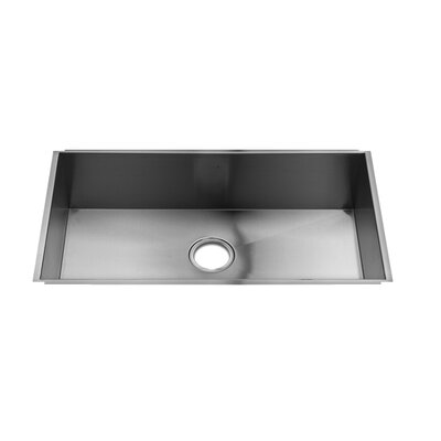 "Julien UrbanEdge 31"" x 17.5"" Undermount Stainless Steel Kitchen Sink"