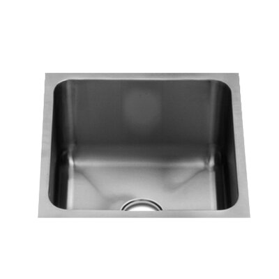 "Julien Classic 13"" x 13.5"" Undermount Stainless Steel Single Bowl Specialty Sink"