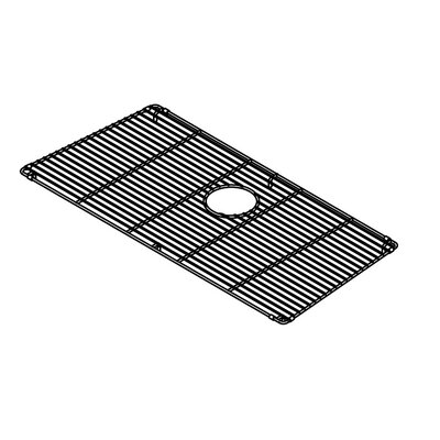 "Julien Trapezoid 31"" x 15"" Electropolished Grid for 32''x16'' Sink Bowl"