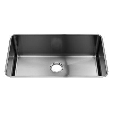 "Julien Classic 31"" x 19.5"" Undermount Stainless Steel Single Bowl Kitchen Sink"