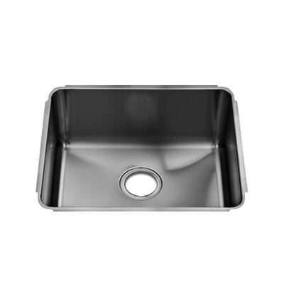 Julien Classic 19&quot; x 17.5&quot; Undermount Stainless Steel Single Bowl Kitchen Sink