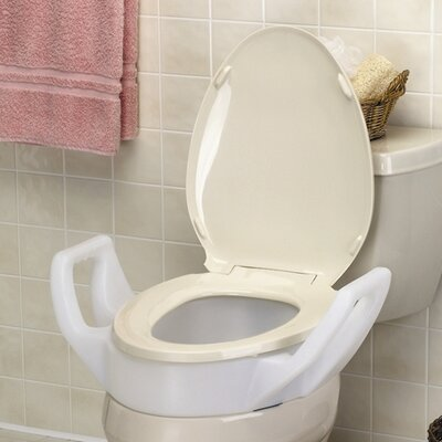 Elevated Toilet Seat with Arms Standard