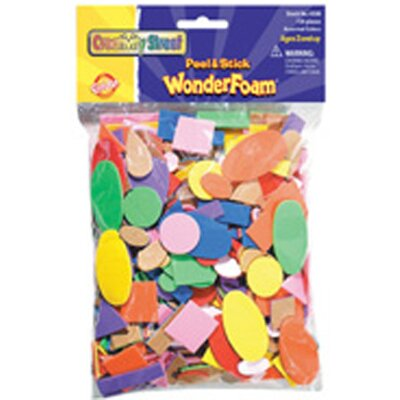 Chenille Kraft Company Peel & Stick Wonderfoam 720 Pcs/bag