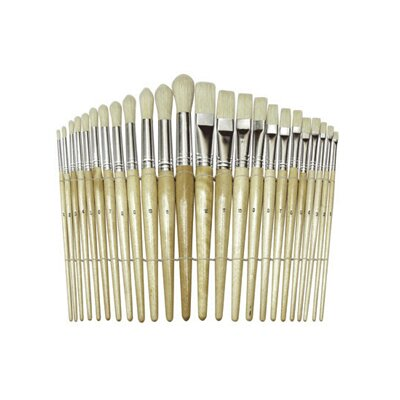 Chenille Kraft Company Wood Brushes Set Of 24