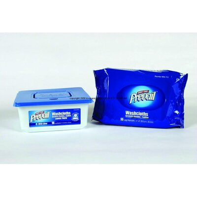 Invacare Supply Group Prevail Disposable Washcloths Refill