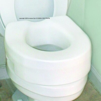 Invacare Supply Group Raised Toilet Seat