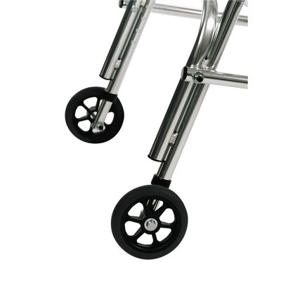 Kaye Products Rear Legs Silent Wheels for Pre-adolescent Walker with Built-In Seat (Set of 2)