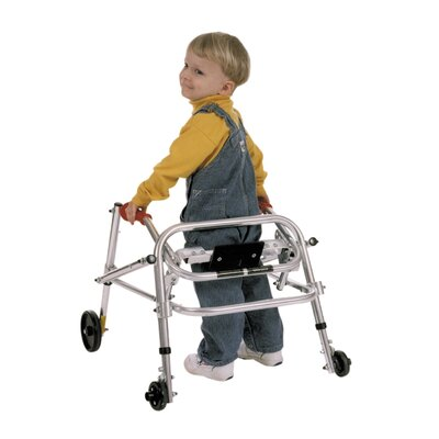 Kaye Products Small Child's Walker with Silent Wheels Legs Installed