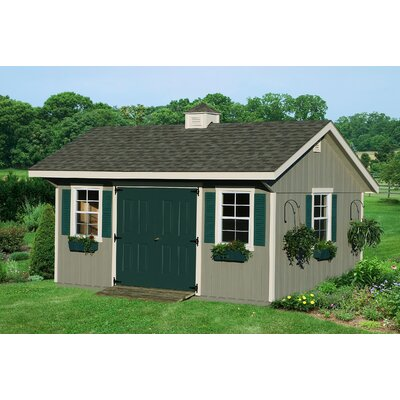 Homeplace Bungalow Wood Garden Shed
