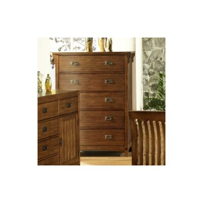 Somerton Craftsman 5 Drawer Chest