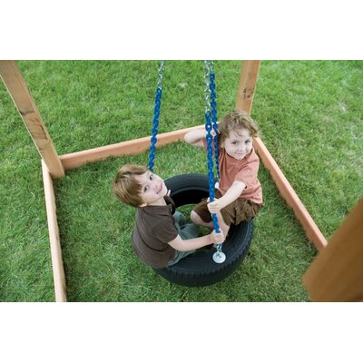 Kids Creations Plastic Tire Swing