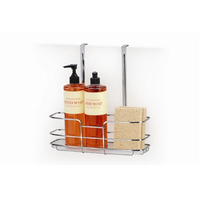Lynk Cabinet Tall Shelf Over Door Organizer with Molded Tray