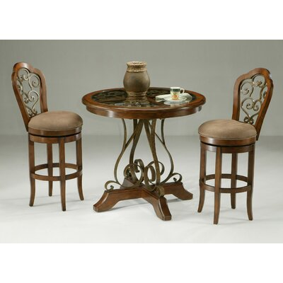 "Pastel Furniture Carmel 3 Piece 40"" Pub Set"