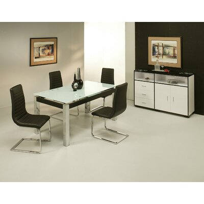 Pastel Furniture Monaco 5 Piece Dining Set