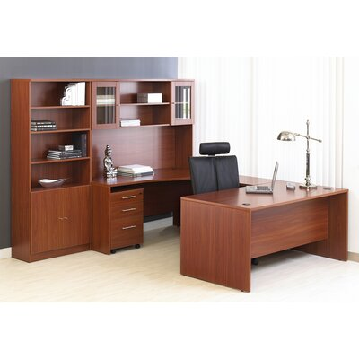 Jesper Office Pro X - U-Shape Workstation Desk Office Suite
