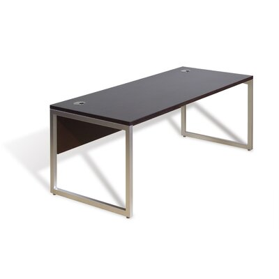 Jesper Office Computer Desk with Aluminum Base