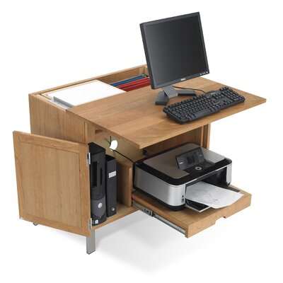 Jesper Office Woodland All in 1 Computer Armoire Desk