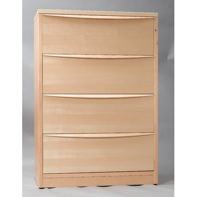 Jesper Office 4 Drawer Lateral File Cabinet