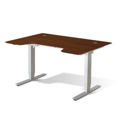 Jesper Office Adjustable Wood Writing Desk