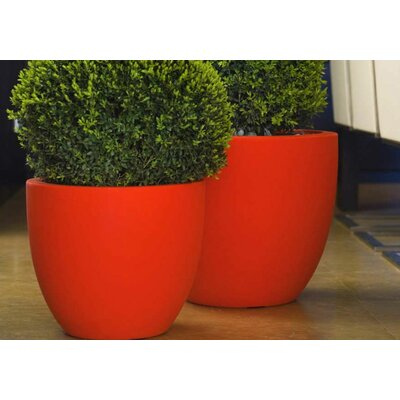 Smart & Green Cuenco Fang Round Flower Pot Planter