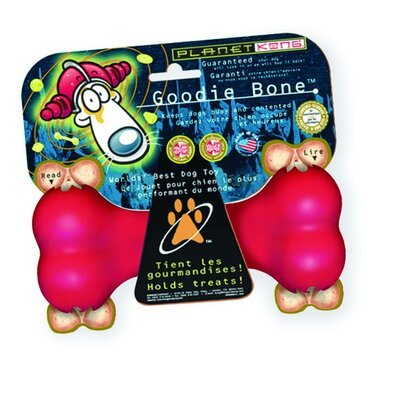 KONG Red Goodie Bone Dog Toy