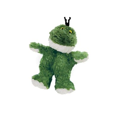 KONG Dr. Noy's Sitting Frog Plush Dog Toy