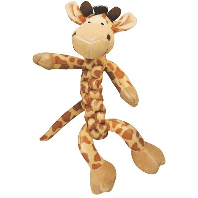 KONG Braidz Giraffe Plush Dog Toy
