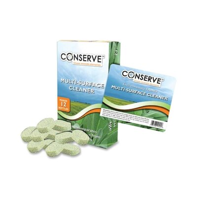 Baumgartens Conserve Multipurpose Cleaner Tablets, Sage Scented, 12 Tablets/Box, Green