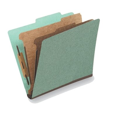 Globe Weis Classification Folder, 2 Partitions, Letter