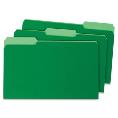 Globe Weis Top Tab File Folder (100 Per Box)