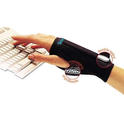 IMAK PRODUCTS SmartGlove Wrist Wrap, Medium, Black, Small