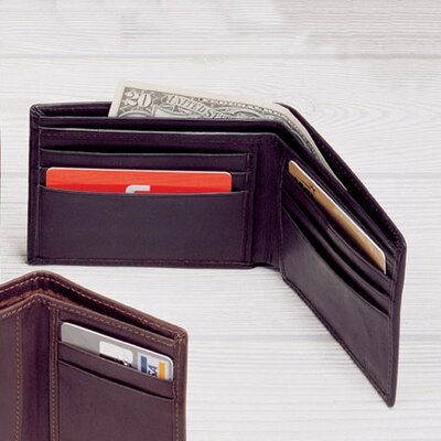 Cowhide Nappa Leather Slim Billfold Wallet