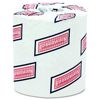 "Boardwalk 4.5"" x 3"" Standard Bathroom Tissue in White"