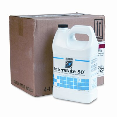 Franklin Cleaning Technology Interstate 50 Floor Finish, 1gal Bottle, 4/carton                                                                            