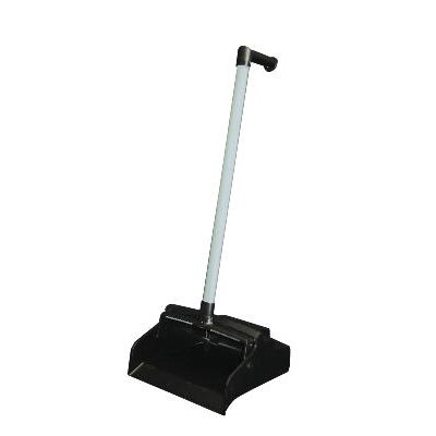 Impact Lobby Master Plastic Lobby Dustpan in Black Pan and White Handle