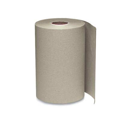 Windsoft Nonperforated Paper Towel Roll in Brown