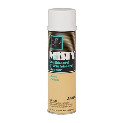 Misty Chalkboard and Whiteboard Cleaner Aerosol Can