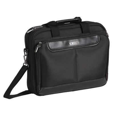 Delsey Helium Business Cases Slim Brief in Black